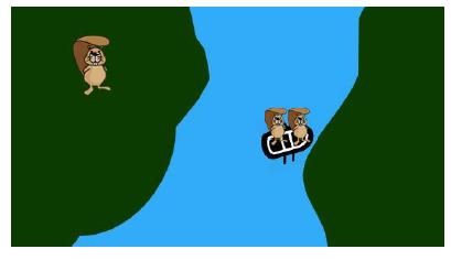 Zeka Soruları - Nehri Geçmek 1